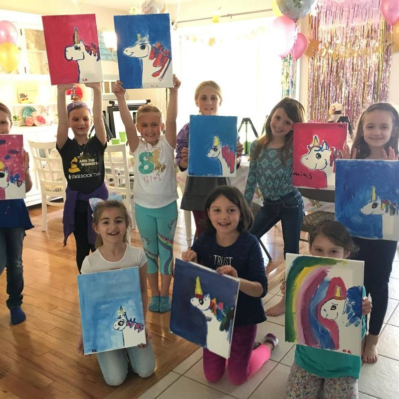 Happy Little Brush Strokes | Kids Party Place in Patchogue, NY | Kidlistings