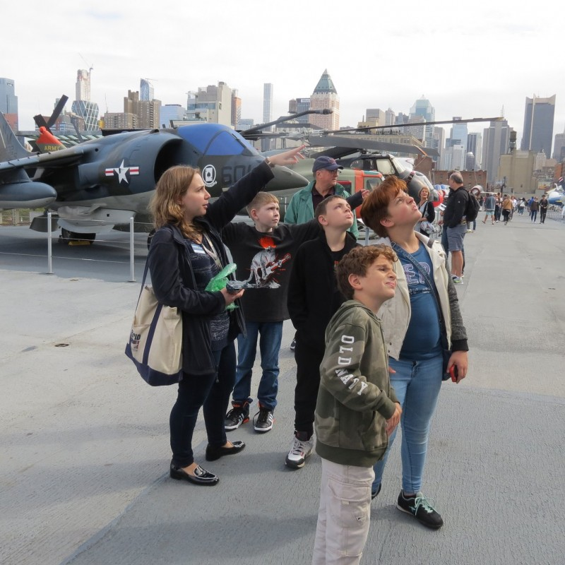 Intrepid Sea, Air & Space Museum in New York, NY | Free Quote | Kidlistings