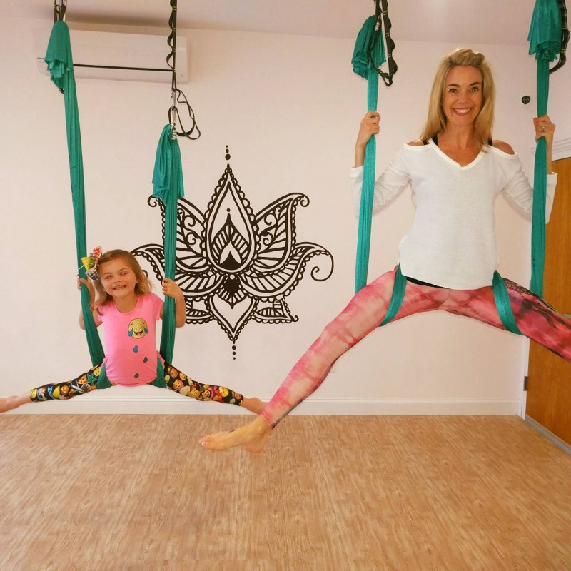 little flyers or floaters basic party package by emerge yoga and