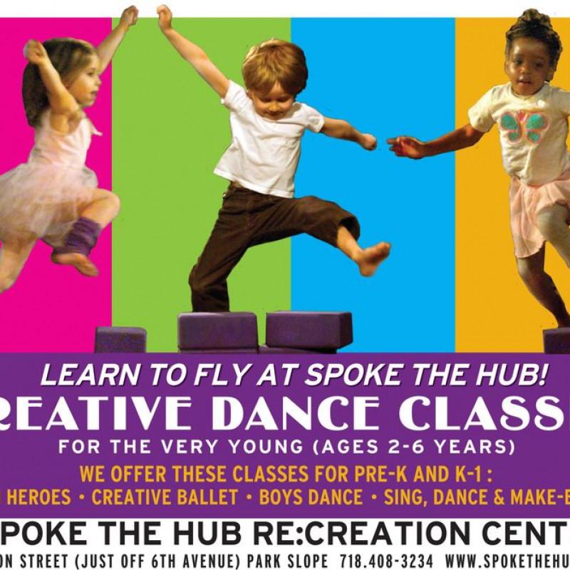 Spoke The Hub Dancing in Brooklyn, NY | Free Quote | Kidlistings