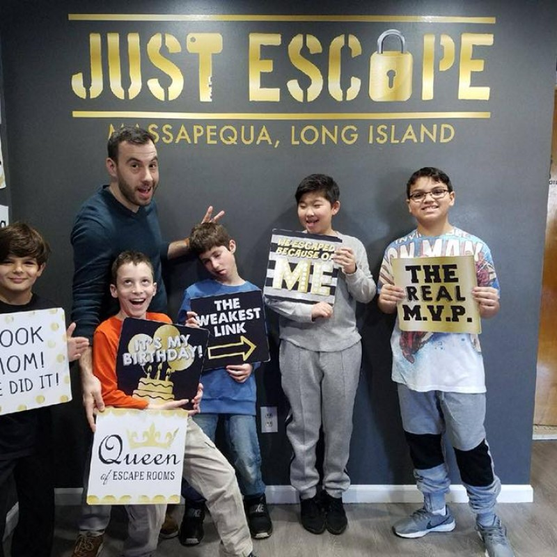 Just Escape | Kids Party Place in Massapequa, NY | Kidlistings